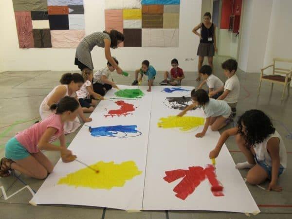 mambo bambini laboratorio pittura