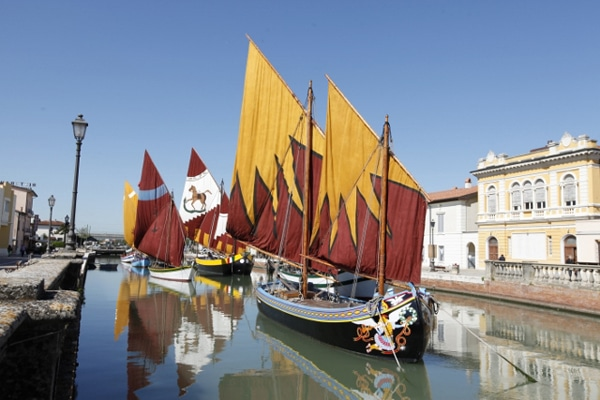 barche storiche museo marineria cesenatico
