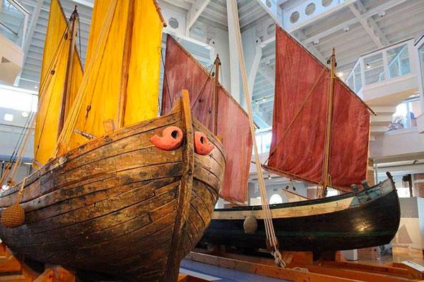 Museo della Marineria di Cesenatico barche storiche