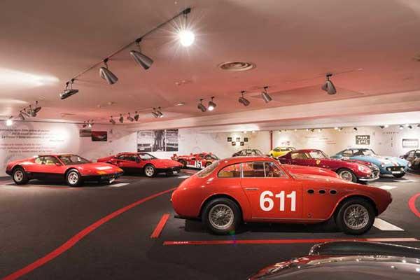 auto storica museo ferrari
