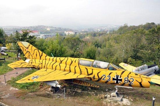 aereo tigrato