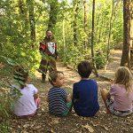 bambini bosco fiabe castello gropparello