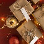 pacchi natalizi con lucine