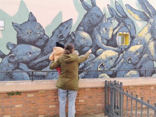 Street art in Emilia Romagna: 10 tappe da vedere coi bambini