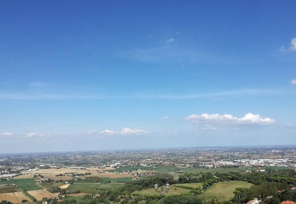 vista panoramica dalla terrazza di Bertinorp
