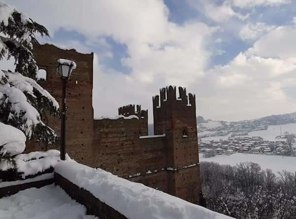 castell'arquato innevata