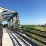 ciclabile sul ponte